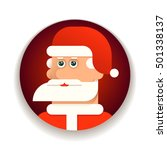 face of santa claus with... | Shutterstock .eps vector #501338137