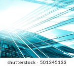 panoramic and perspective wide... | Shutterstock . vector #501345133
