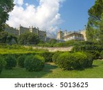 vorontsov palace  bushes and... | Shutterstock . vector #5013625