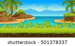 game background 2d game... | Shutterstock . vector #501378337