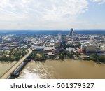 aerial view downtown little... | Shutterstock . vector #501379327