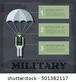 paratrooper military... | Shutterstock .eps vector #501382117
