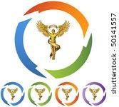 chiropractic symbol | Shutterstock .eps vector #50141557