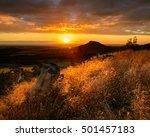 Golden Sunset Over Roseberry...