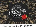 christmas restaurant brochure ...