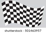 Checkered Racing Flag. Symboli...
