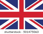 united kingdom flag | Shutterstock .eps vector #501475063