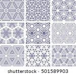 set of 9 monochrome geometrical ...   Shutterstock .eps vector #501589903