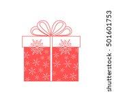 vector illustration of gift box ... | Shutterstock .eps vector #501601753