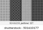 seamless geometric line... | Shutterstock .eps vector #501610177