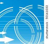 blue technical background | Shutterstock .eps vector #50161033