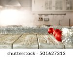 winter kitchen christmas | Shutterstock . vector #501627313