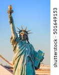 Statue Of Liberty In Odaiba...