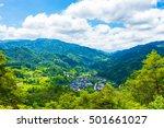 a view overlooking tsumago...   Shutterstock . vector #501661027