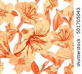 vector seamless yellow...   Shutterstock .eps vector #501705043