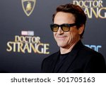 robert downey jr. at the world... | Shutterstock . vector #501705163