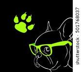 dog vector breed cute pet...   Shutterstock .eps vector #501768037