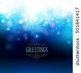 christmas background | Shutterstock .eps vector #501841417