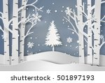 Snowflakes And Christmas Tree...