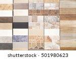 Various Ceramic Tiles Samples