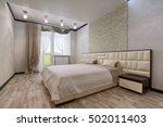 bedroom interior | Shutterstock . vector #502011403