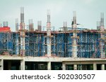 the building construction. | Shutterstock . vector #502030507