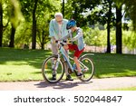 family  generation  safety and... | Shutterstock . vector #502044847