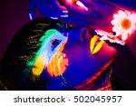The Girl In The Neon Light...
