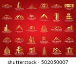 mega set and big group  real... | Shutterstock .eps vector #502050007