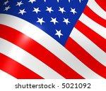 flag the usa | Shutterstock . vector #5021092
