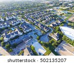 aerial typical multi level... | Shutterstock . vector #502135207