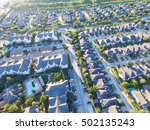 aerial typical multi level... | Shutterstock . vector #502135243