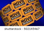 Movie Night Tickets Showtime...