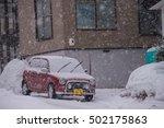 otaru  japan   december 30 ... | Shutterstock . vector #502175863