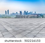 cityscape and skyline of sky on ... | Shutterstock . vector #502216153