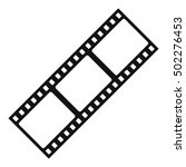 film strip icon. simple... | Shutterstock .eps vector #502276453