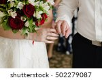 hands with rings | Shutterstock . vector #502279087