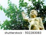 Golden Young Buddha Statue...