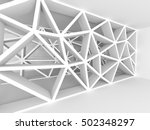 abstract architecture design... | Shutterstock . vector #502348297