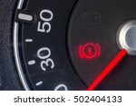 image of a car's dashboard... | Shutterstock . vector #502404133