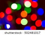 bokeh many colors  background... | Shutterstock . vector #502481017