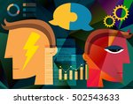 business agreements abstract | Shutterstock .eps vector #502543633