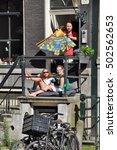 amsterdam  netherlands   july... | Shutterstock . vector #502562653
