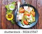 salad   Shutterstock . vector #502615567