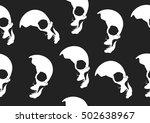 seamless pattern of an human... | Shutterstock .eps vector #502638967