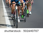 cycling competition race at... | Shutterstock . vector #502640707