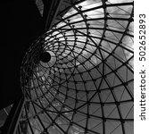 interior line design black and... | Shutterstock . vector #502652893