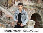 men | Shutterstock . vector #502692067