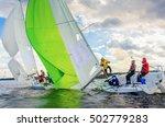konakovo   april 19   team... | Shutterstock . vector #502779283