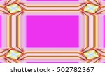 picture frame abstract... | Shutterstock . vector #502782367